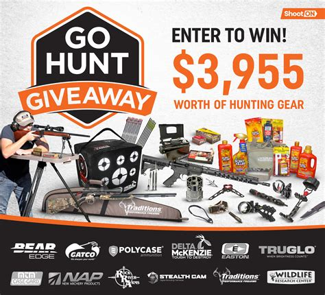 Hunting Gear Giveaways - enter the go hunt giveaway win 3 955 worth of hunting gear gunsamerica digest