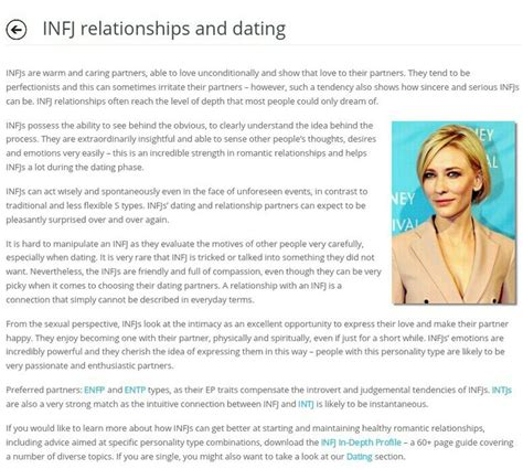 Dating Advice by Infp Relationships Compatibility