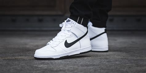 Nike High The Nike Dunk High White Black Is A Clean Pair For Summer