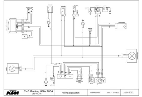 ktm 400 2 stroke wiring diagrams wiring diagram schemes