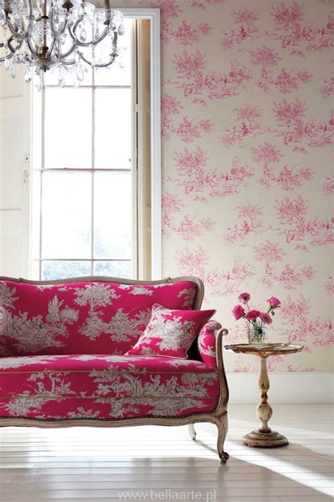 pink couches living room classic vs modern looks the toile de jouy revisited inspiration ideas brabbu design forces