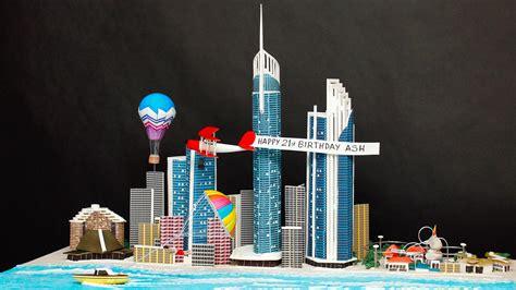 Cake Decorating Shop Gold Coast by Of The Gold Coast Skyline Cake Yeners Way