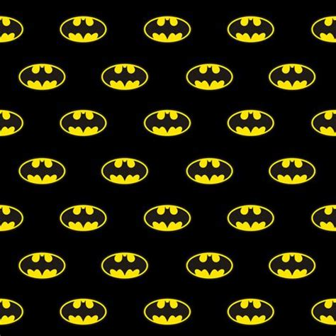 pattern logo small batman logo fabric by amandalevey on spoonflower