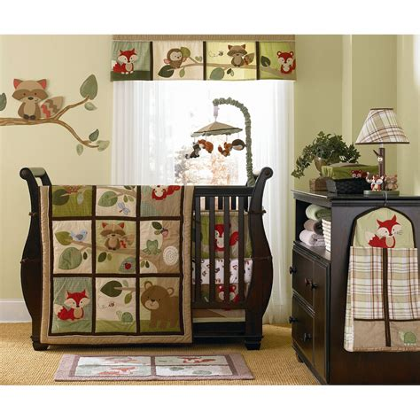 Woodland Crib Bedding Sets Forest Friends Nursery Bedding Alphadorable S Tree Tops Crib Bedding This Bedding Set