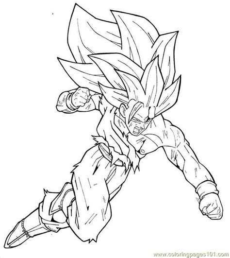 dragon ball z goku super saiyan 2 coloring pages dragon ball z goku super saiyan 4 coloring pages az