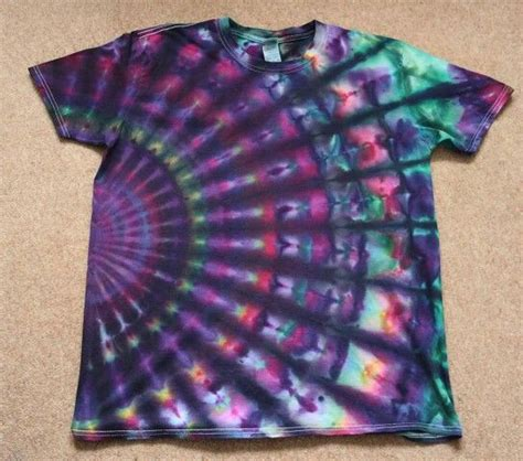 Summr Tie Dye T Shirt Shooting Kaos Tie Dye Tie Dye audacious tie dye gents shirts light green mens