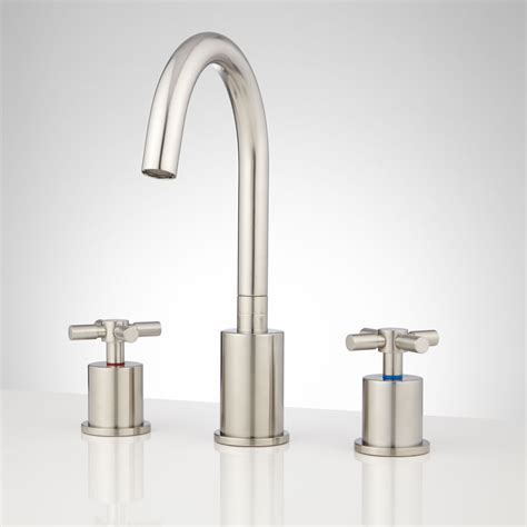 widespread bathroom faucets montevallo widespread bathroom faucet with pop up drain