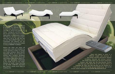 Adjustable Bed Base Motorized Frame Power Bed Ergo Foundation Power Adjustable Bed Frame