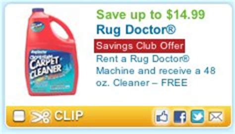 the rug doctor coupons cleaning carpets rent a rug doctor save 5 plus get free 48 oz cleaner 14 99 value