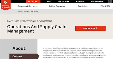 Mba Operations And Supply Chain Management Syllabus by 50 Warehouse Operations Courses And Tutorials