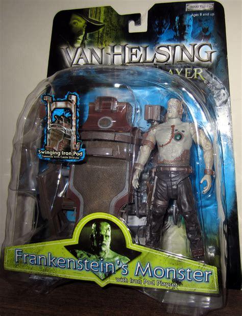 Figure Frankenstein Vanhelsing frankensteins iron pod playset helsing