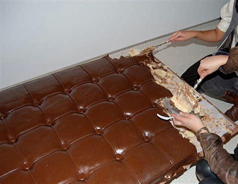 wacky world of choc wednesdays chocolate furniture busts