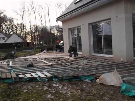 Faire Une Terrasse A Moindre Cout 4108 by Terrasse En Palette 1 232 Re Partie