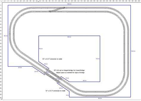 lionel layout software lionel 6x12 track plan wiring diagrams wiring diagram