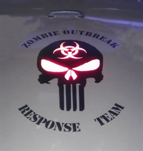 zombie jeep decals 2 zombie apocalypse jeep wrangler renegade rubicon hood decals