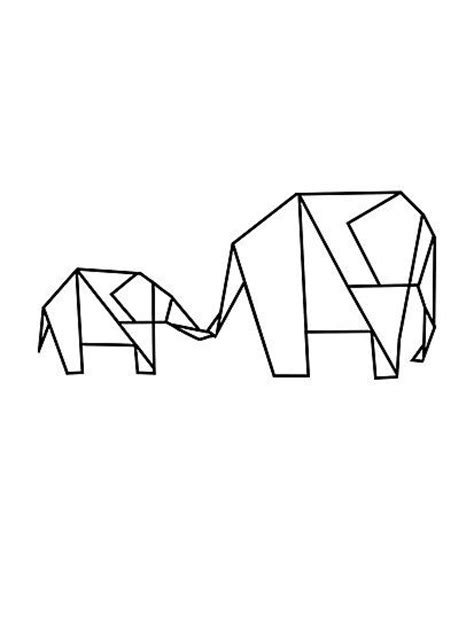 Drawing Origami - best 25 elephant doodle ideas on simple
