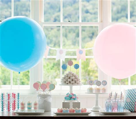 Baby Plans For Tomkat by Pink Or Blue Baby Shower Pottery Barn