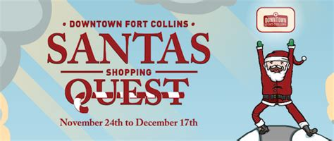 Downtown Fort Collins Gift Card - downtown santas shopping quest downtown fort collins
