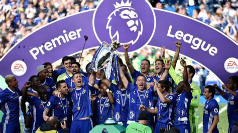 chelsea premier league chelsea celebrate title triumph