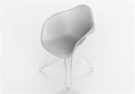 sedia 3d sedie 3d sedia moderna acca software