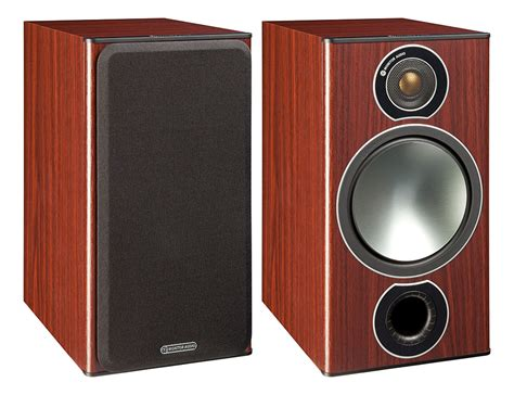 monitor audio bronze 2 rosemah bookshelf speakers pair