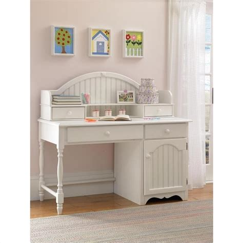 Hillsdale Westfield Wood Desk In Off White 1354 779 White Wood Desks