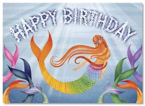printable birthday cards mermaid mermaid cards mermaid greeting card 0145r 1 2 75