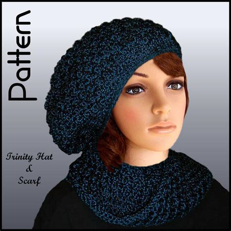 slouchy hat and scarf set by jo mackinnon