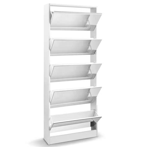 shoe storage australia 5 section shoe rack cupboard w length mirror buy