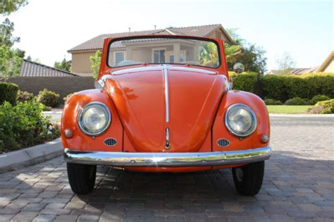 1963 Lamborghini For Sale 1963 Vw Convertible Beetle Bug Type 1 Karmann Lamborghini