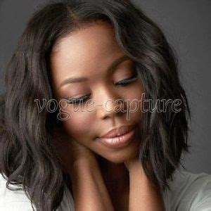 blackwomen short bob body wave hair styles black women swiss lace front wig body curly loose beach