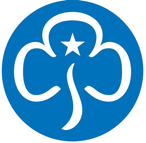 Guide Trefoil Outline by Guides Girlguiding West