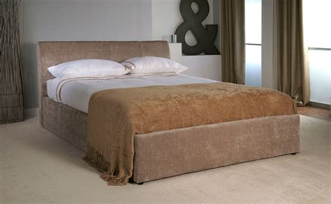 ottoman storage king size bed jupiter mink velvet fabric king size bed with ottoman