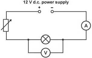 variable load resistor circuit diagram bitesize gcse physics wales 2016 onwards electric circuits revision 4