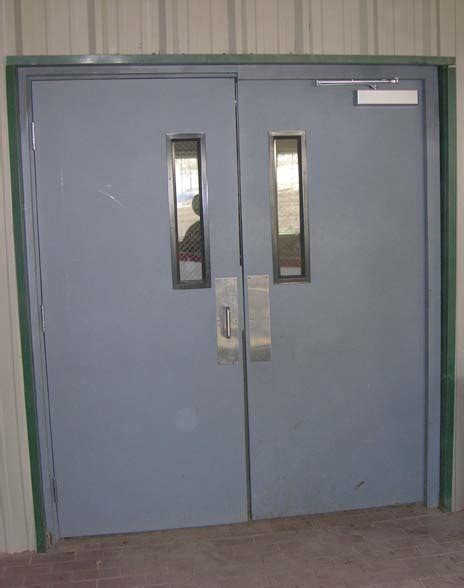 Exterior Metal Door Commercial Metal Exterior Doors Marceladick