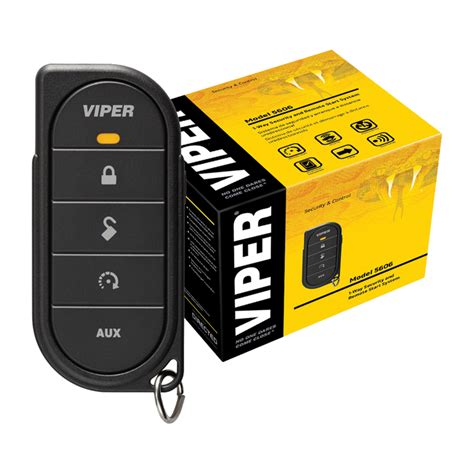 viper responder le 5606v 1 way security and remote start