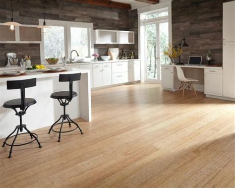 light kitchen flooring 35 bamboo flooring ideas with pros and cons digsdigs