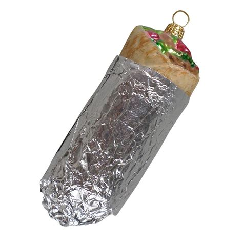 burrito christmas ornament popsugar food