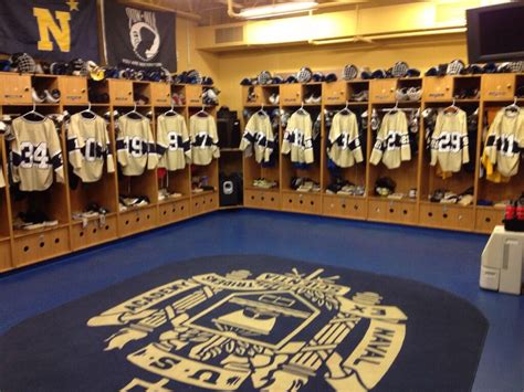 naval academy room chips looking inside the nation s coolest locker rooms acha