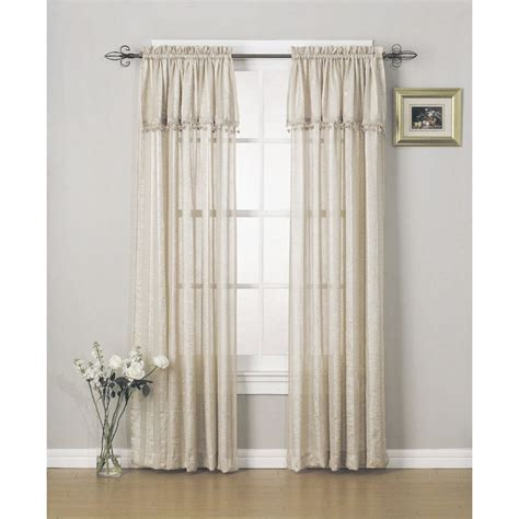 sears window curtains valances shop for elegant window valances at sears