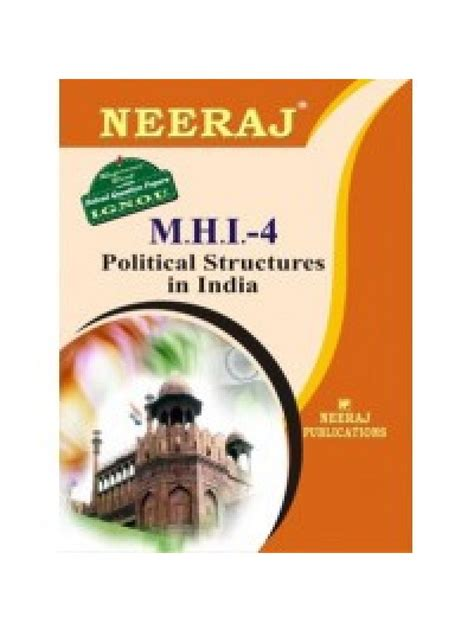 Mba 800 Wichita State Assigments by Mhi 4 Political Structure In India Ignou