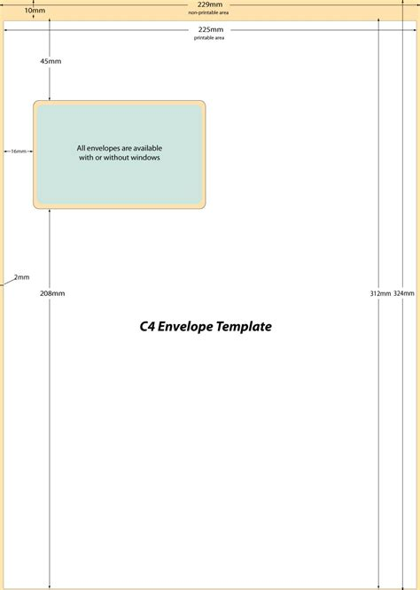 envelope templates 40 free envelope templates word pdf template lab