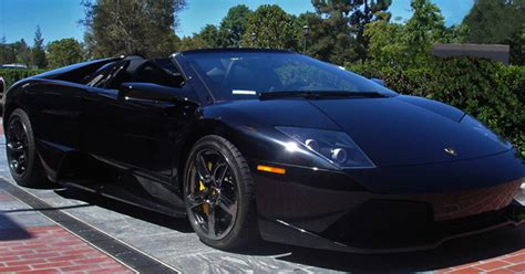 Black Lamborghini Convertible Lamborghini Convertible For Rent