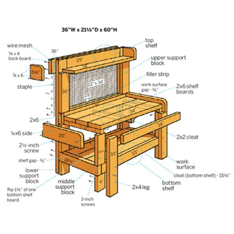 potters bench plans potting benches plans gustitosmios
