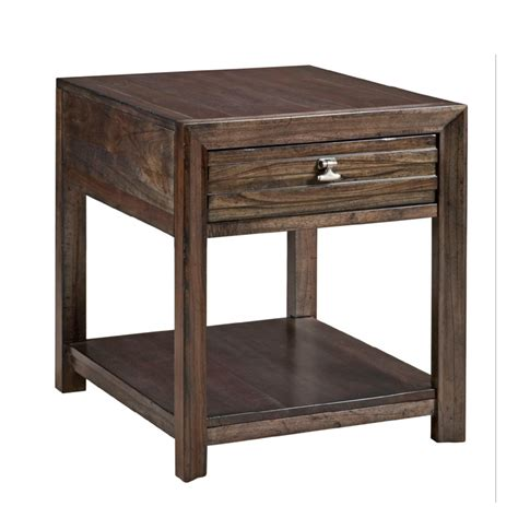 discount accent tables kincaid 84 021 montreat drawer end table discount