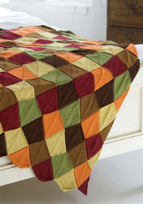 leaf pattern afghan autumn leaves afghan knitting pattern from red heart yarn