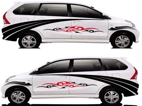 Lu Variasi Mobil Avanza stiker mobil keren sm572 laquna variasi toko aksesoris