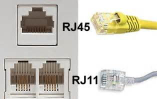 standard wiring rj11 rj12 connectorpairs wiring circuit diagram