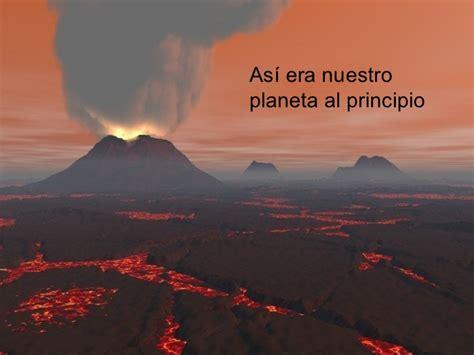 como era la tierra al principio de su formacion la energia interna de la tierra