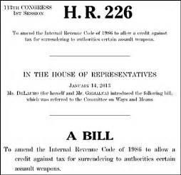 congressional bill template gun confiscation bill introduced in congress 187 alex jones